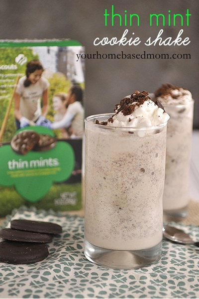 girl scout cookie shake