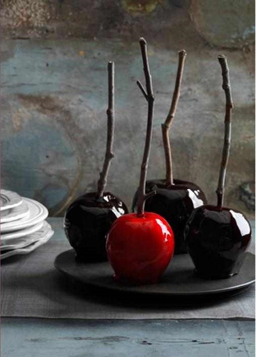 Decadently Dark Candy Apples and Country Living's Spooky & Bright Book
