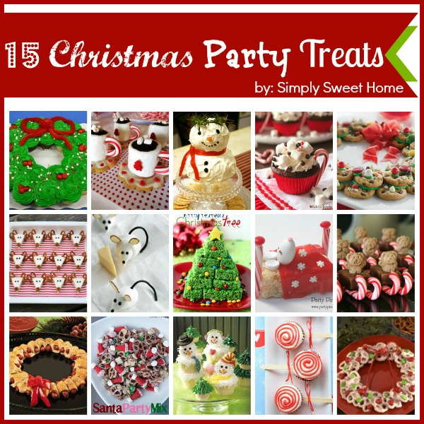15 Christmas Party Treats and a Linky Party