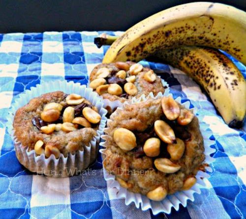 Nutty Banana Muffins