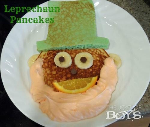 St. Patricks Day Pancake