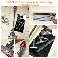 Shark Rocket Review and Giveaway