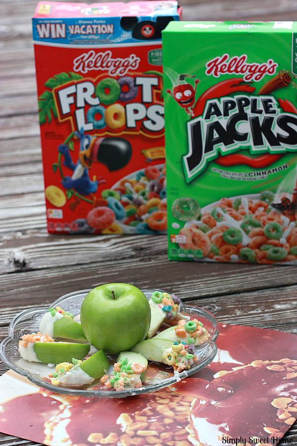 candy apple slice platter