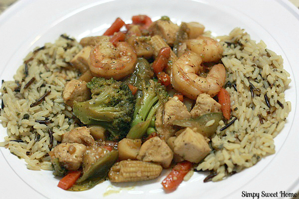 Shrimp chicken stir fry stir fry recipes shrimp get no pain lo mein recipe from food network f t p s i y stir fry for 1 minute to flavor the oil chicken or small de veined shrimp may be added forumfinder Image collections
