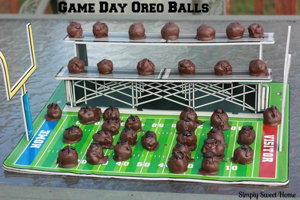 Game Day Oreo Balls