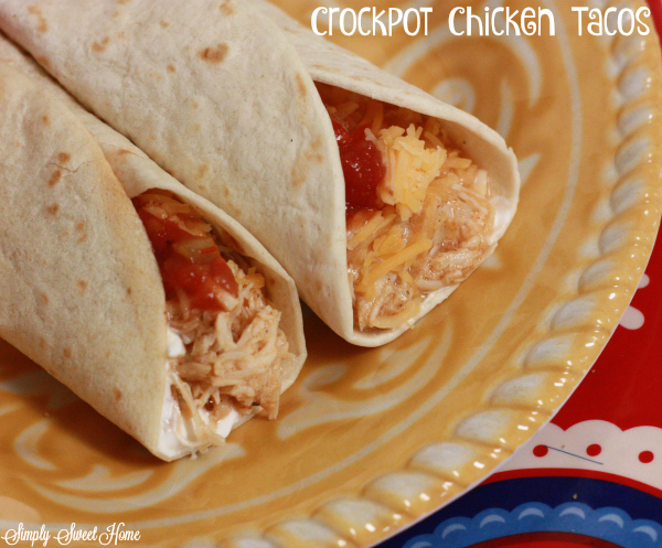 Crockpot Chicken Tacos + Tailgreatness with Nexium® 24HR