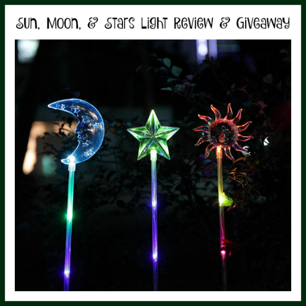 Sun, Moon, & Star Light Review and Giveaway
