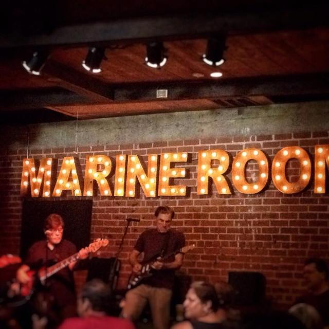 Jam out at the marineroom californialove