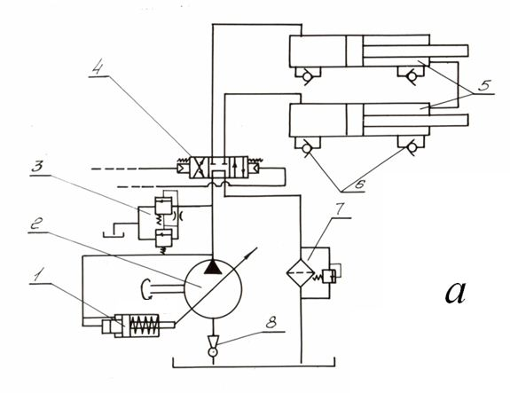 basic hydraulic schematics