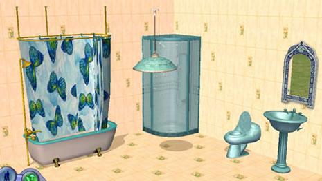 Die Sims 2   Objekte Zum Download Duschen Und Badewannen   Sims 2 Badezimmer  Objekte
