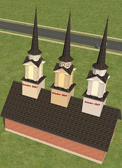 Die Sims 2   Objekte Kuppeln Fürs Dach, Türme, Auto   Sims 2 Badezimmer