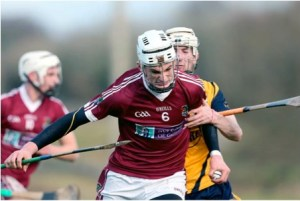 Clare's Conor Cleary starred at centre back for NUIG.