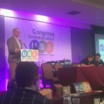USI President Michael Kerrigan speaks at USI Congress 2018