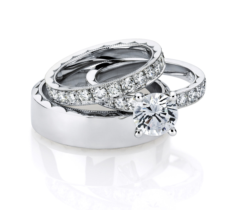 wedding ring set for her tacori mens wedding bands Download