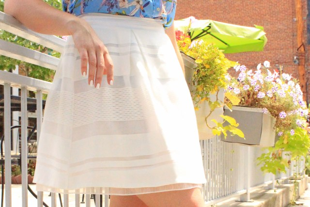 Rent the Runway White Skirt