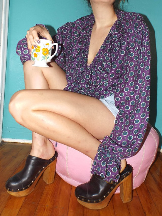 Clogs in the Summer