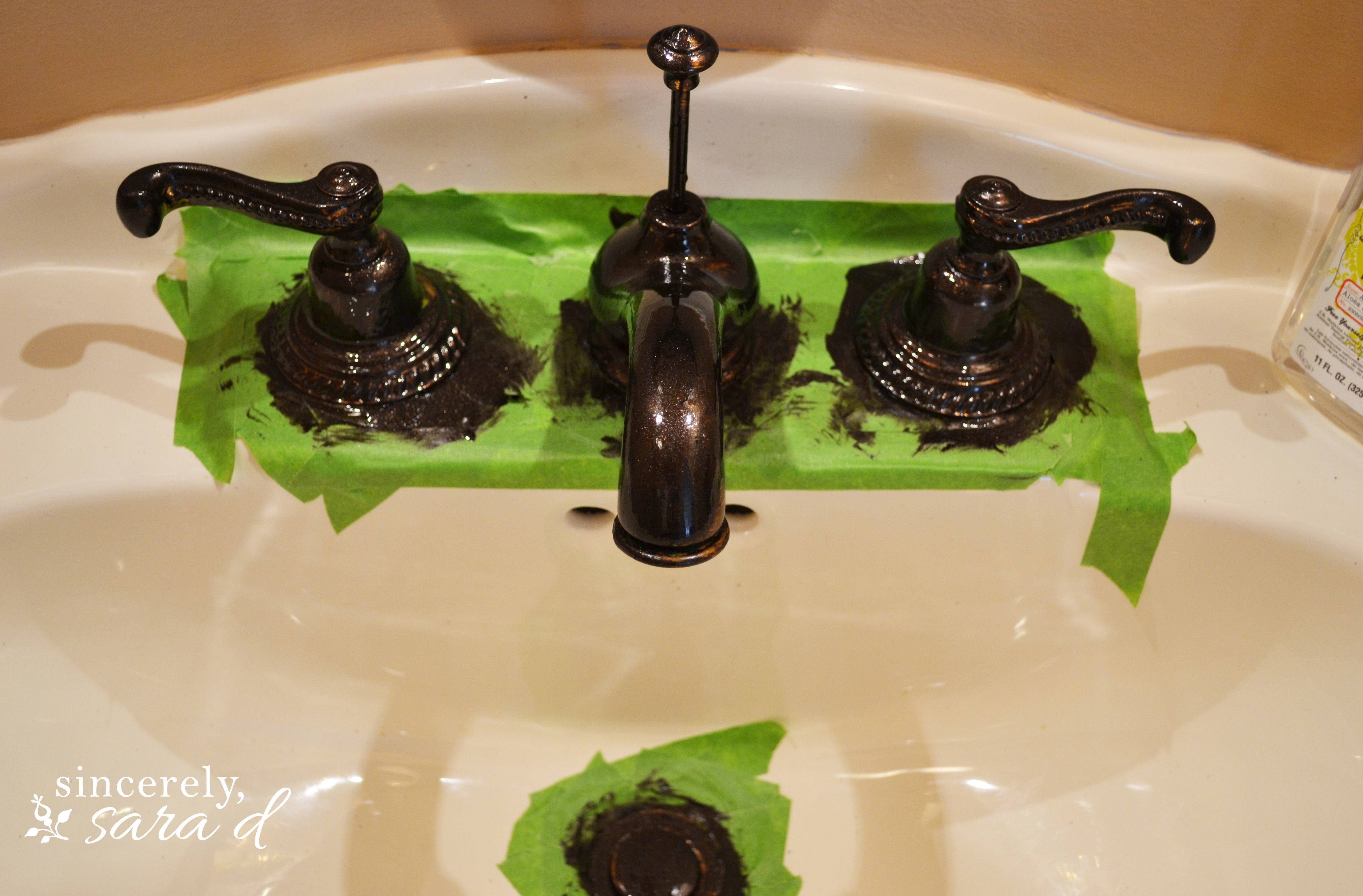 How To Paint A Faucet Sincerely Sara D