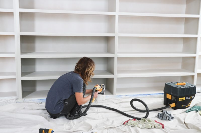 Office Bookshelves Wagner Paint Sprayer Sincerely Sara D
