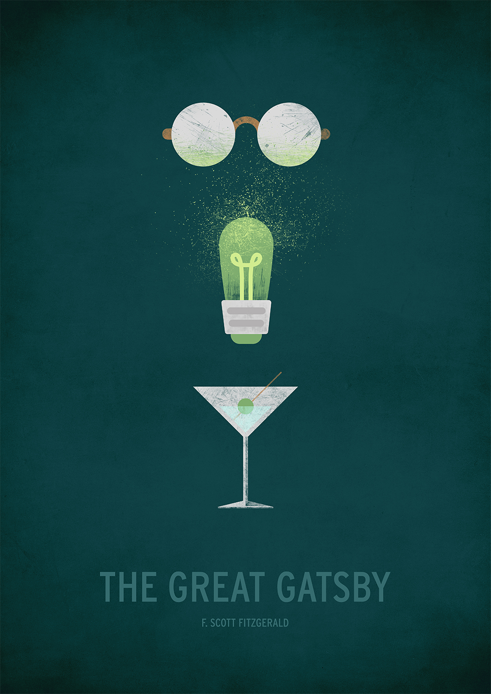 The Great Gatsby Minimal large