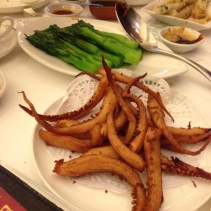 Fried Squids w Spicy Salt