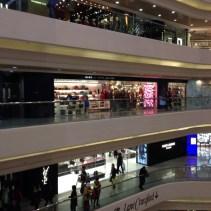 Interior of Lee Gardens mall, Hong Kong
