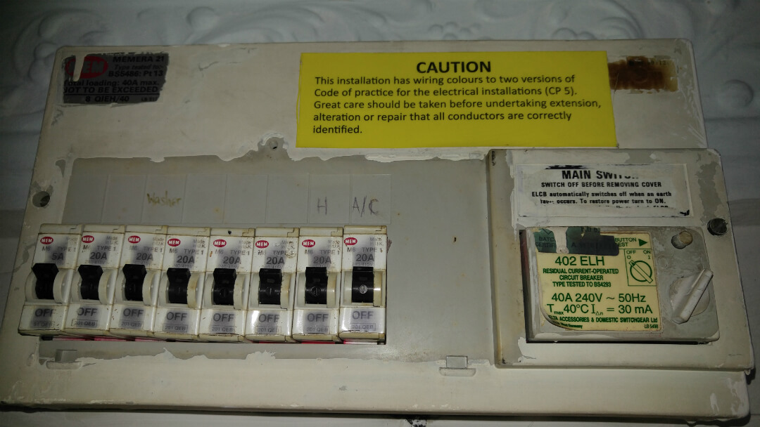 Main Circuit Breaker Singapore Db Box, Fuse Box, MCB, RCD