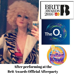 Performing at the Brit Awards Official Afterparty s
