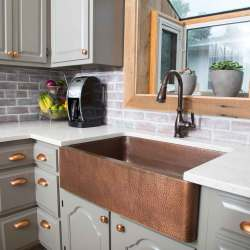 Small Of Copper Farmhouse Sink