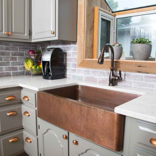 Medium Of Copper Farmhouse Sink