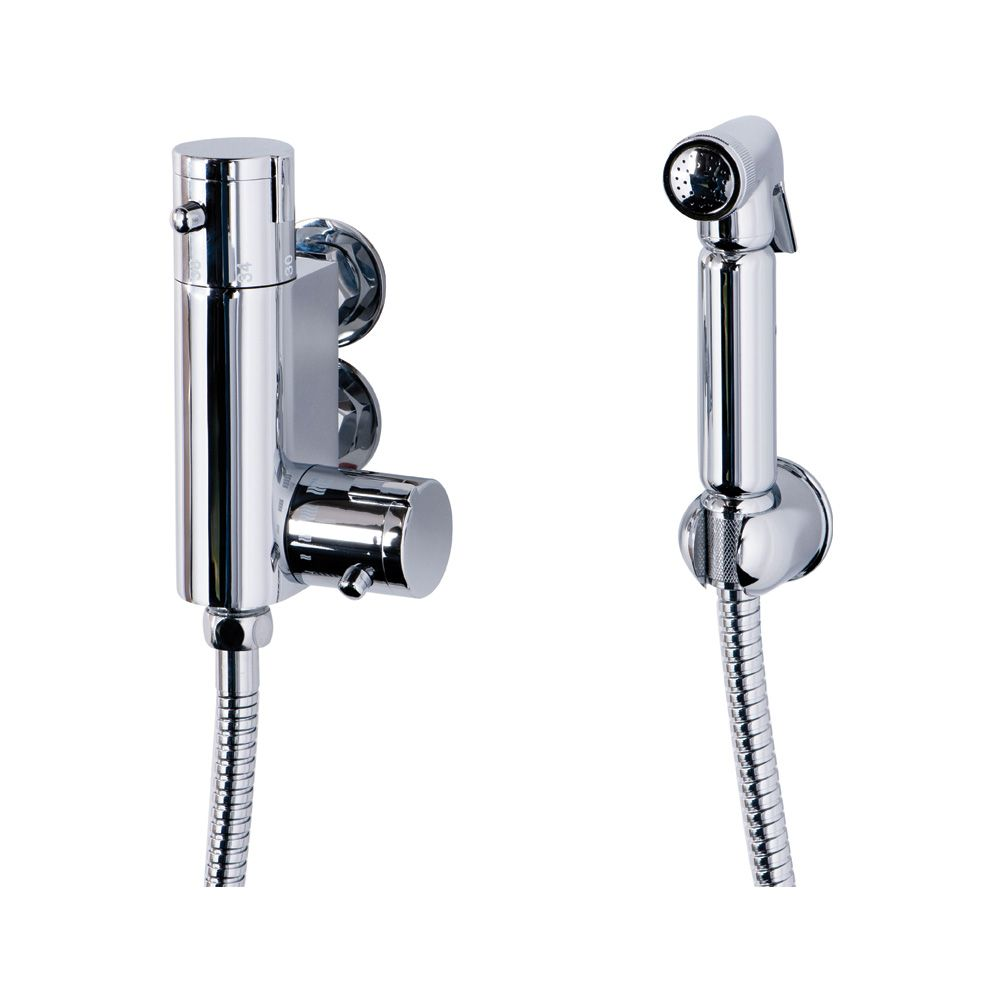 Douche Shower Spray Kit With Wall Bracket Hose Sinks