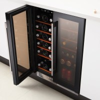 Wi6231 Integrated Dual Zone Wine Cabinet - Sinks-Taps.com