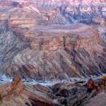 VIAJANDO POR NAMIBIA – 3/8/2003 – Del Fish River Canyon a Aus (1ª parte)