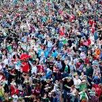 Gijón bate el record Guinness de escanciado simultáneo de sidra