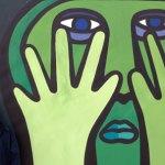 "Semana Negra 2012: Con el muralista chileno ""Mono"" González"
