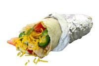 comida falafel kebab burrito
