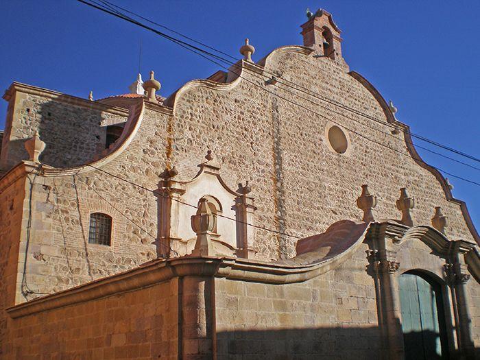 Impresionantes edificaciones en Potosí