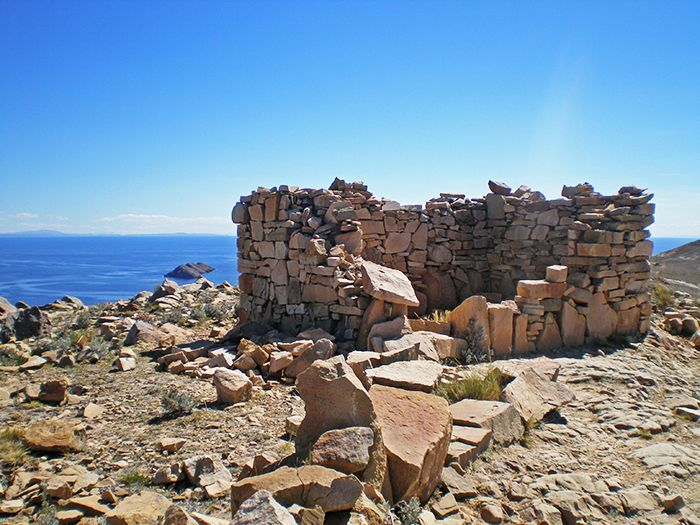 Ruinas en la Isla del Sol
