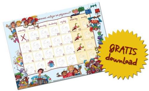 Sinterklaas aftelkalender 2012