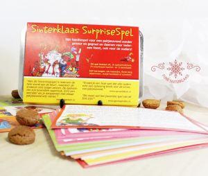 Sinterklaas Surprisespel - nieuwe editie 2015