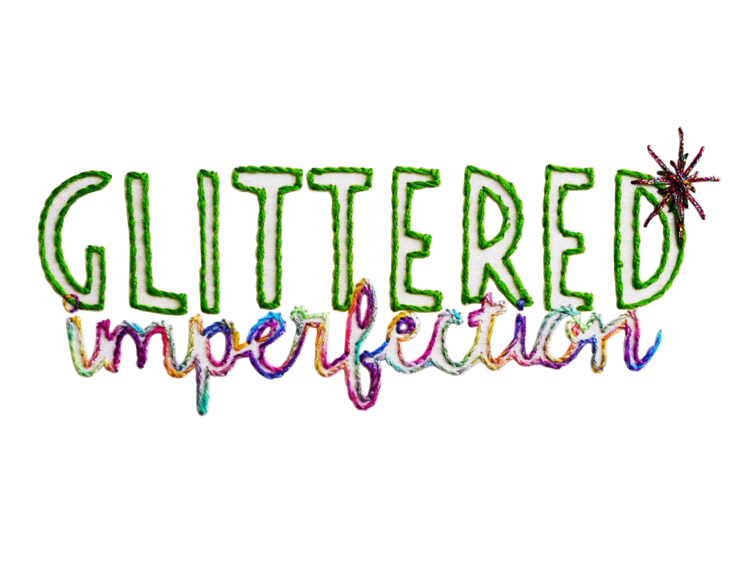 Glittered Imperfection Logo Design