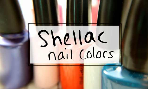 How to choose a Shellac nail polish 2016 color palette