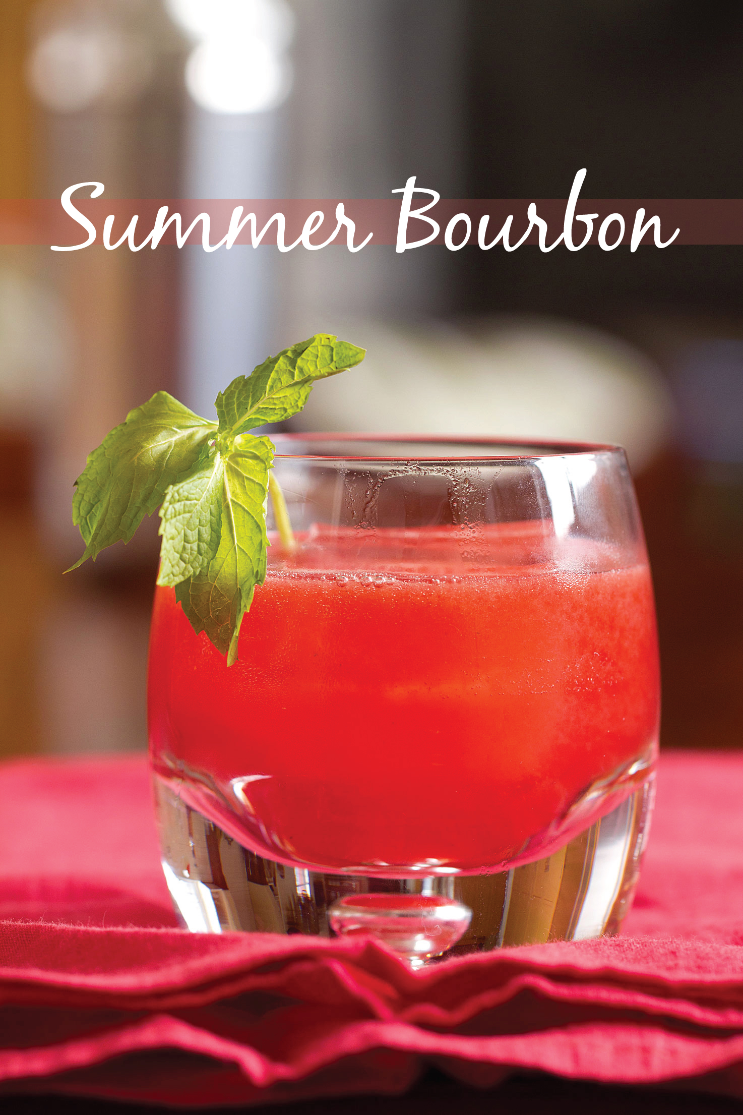 Summer Bourbon Cocktail