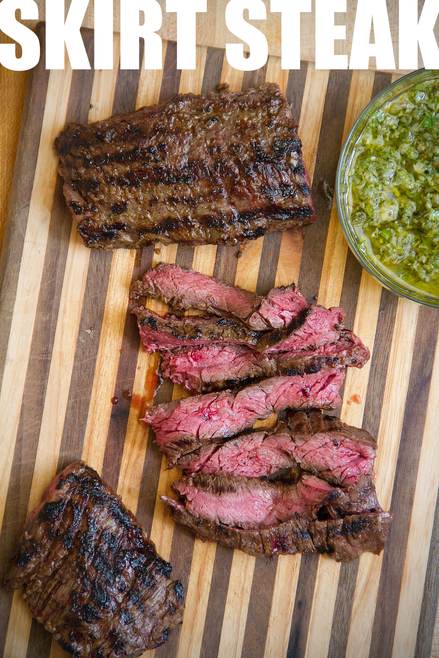 Grilled Skirt Steak with Onion Marinade