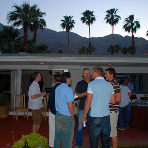 Gay Cocktail party in Palm springs
