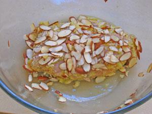 almond chcicen prep