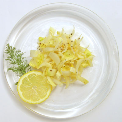 Endive Salad with Mustard Vinaigrette