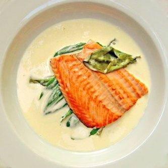 Salmon & Sorrel Troisgros