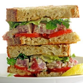 fancy tuna sandwich