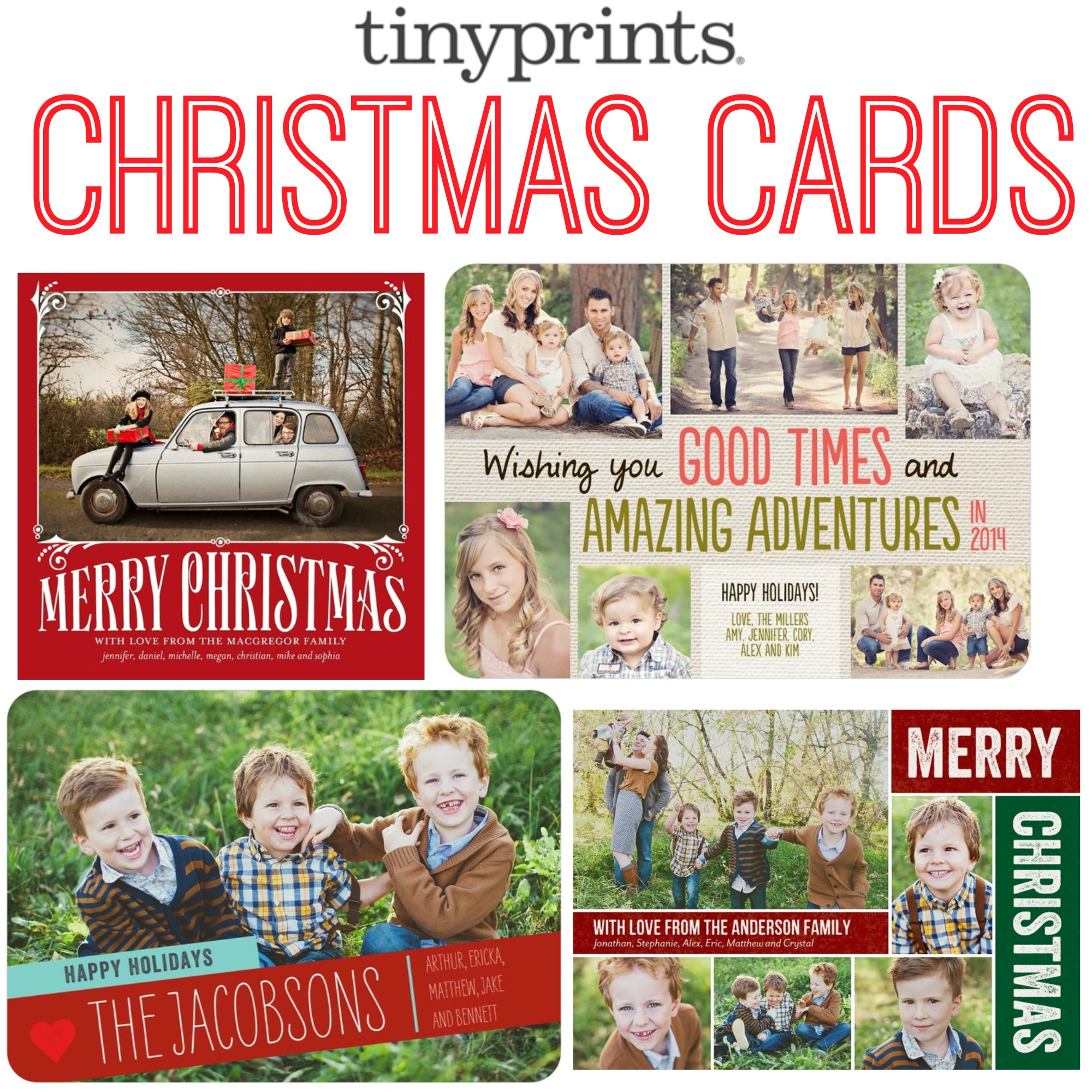 Charmful Tiny Prints Cards Spread Holiday Cheer Tiny Gift Code Giveaway Tiny Prints Photo Cards Tiny Prints Fed Cards cards Tiny Prints Christmas Cards