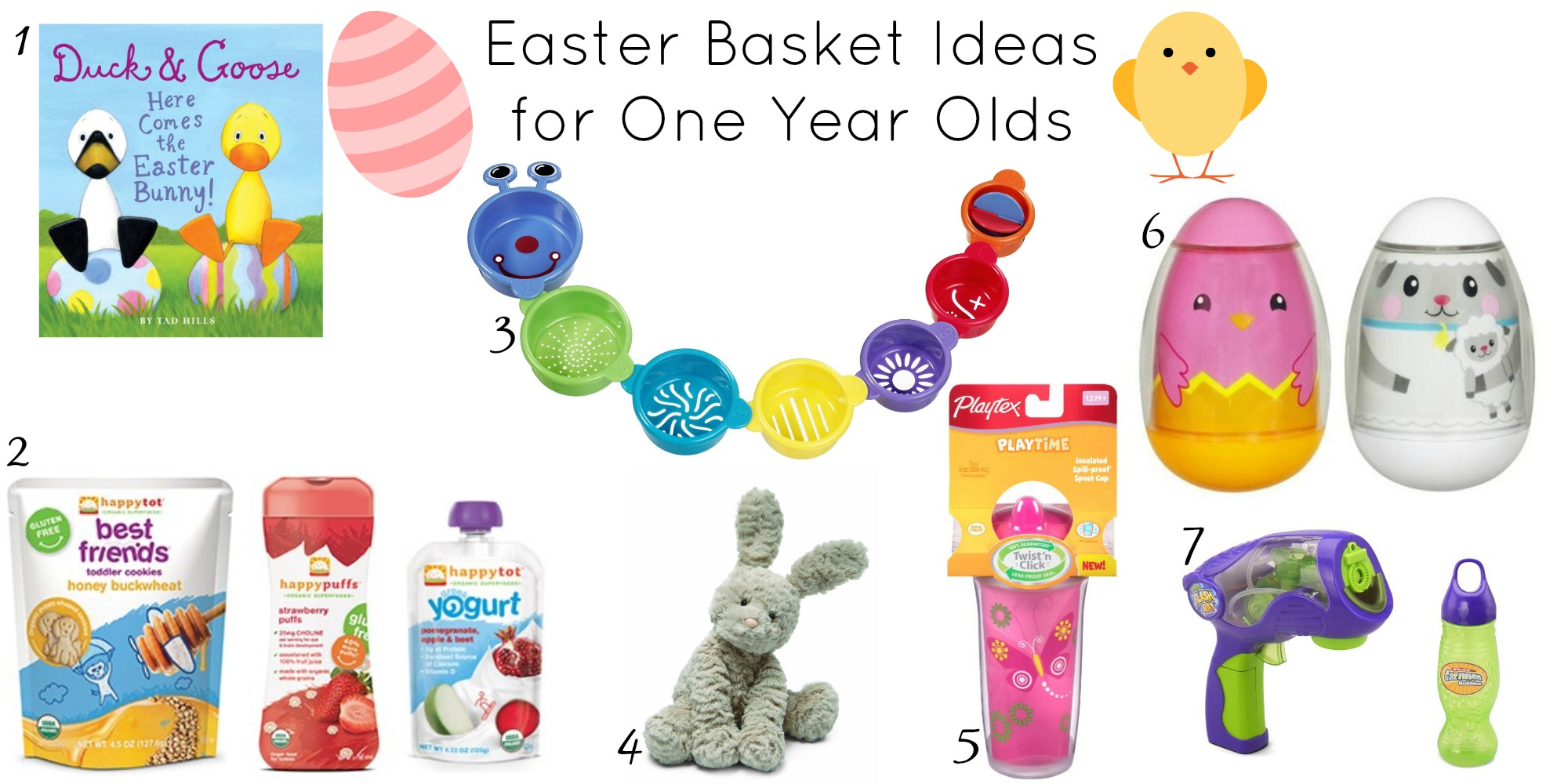 Gift ideas for one year old eskayalitim easter basket ideas for one year olds sippy cup mom saveenlarge negle Images
